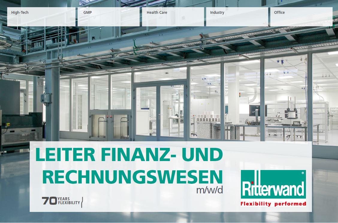 Leiter Finanz- und Rechnungswesen (m/w/d)